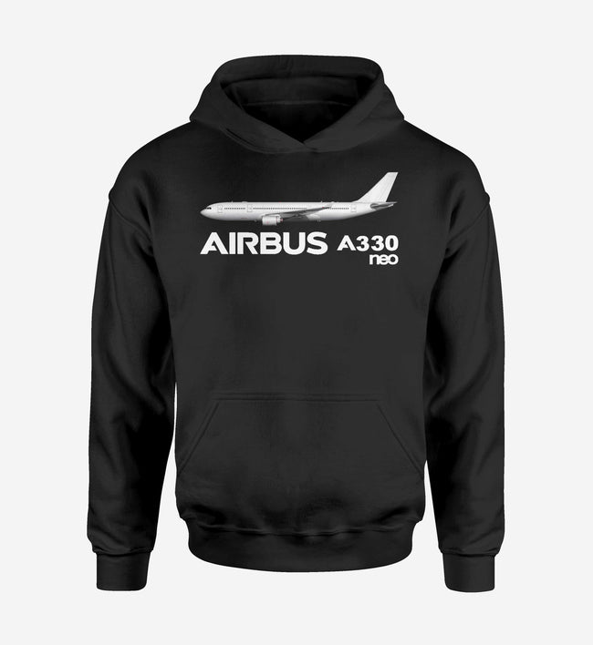 The Airbus A330neo Designed Hoodies