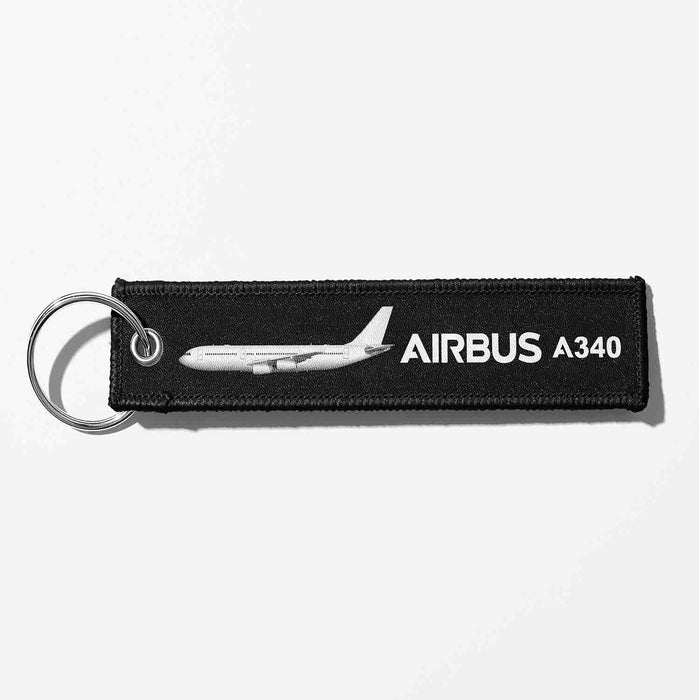 The Airbus A340 Designed Key Chains