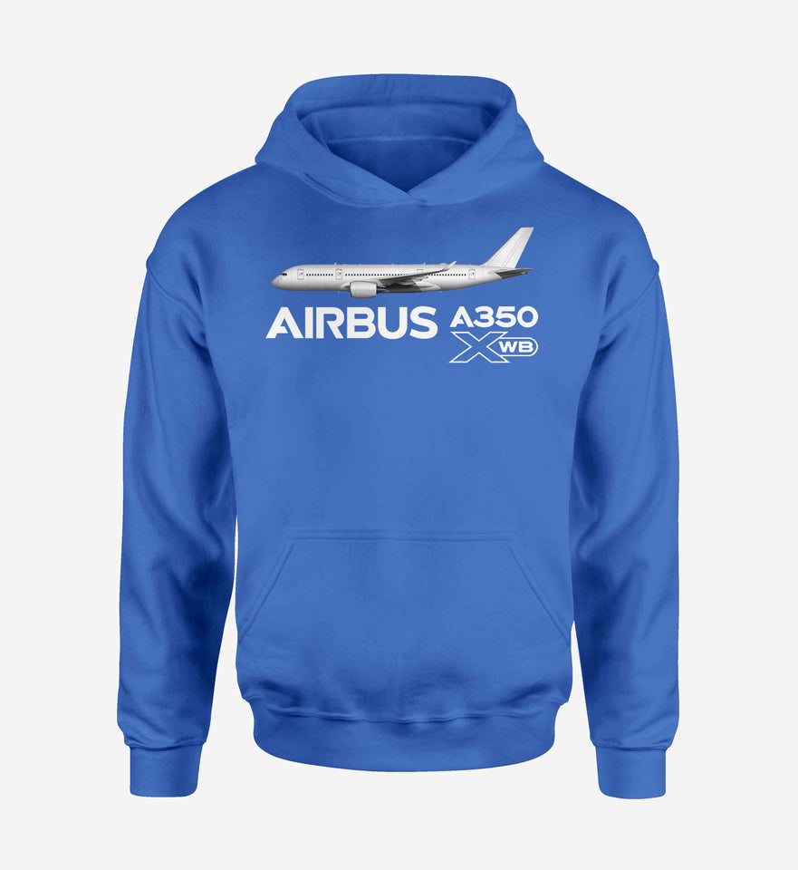 The Airbus A350 XWB Designed Hoodies