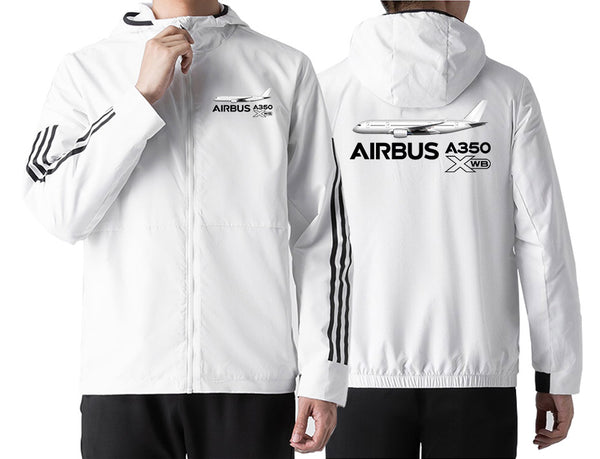 The Airbus A350 XWB Designed Windbreaker Jackets