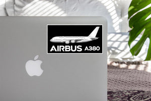 The Airbus A380 Designed Stickers