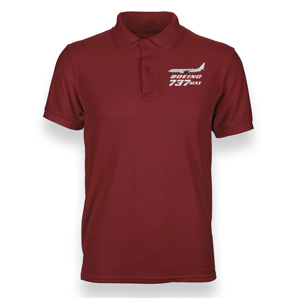 The Boeing 737Max Designed Polo T-Shirts