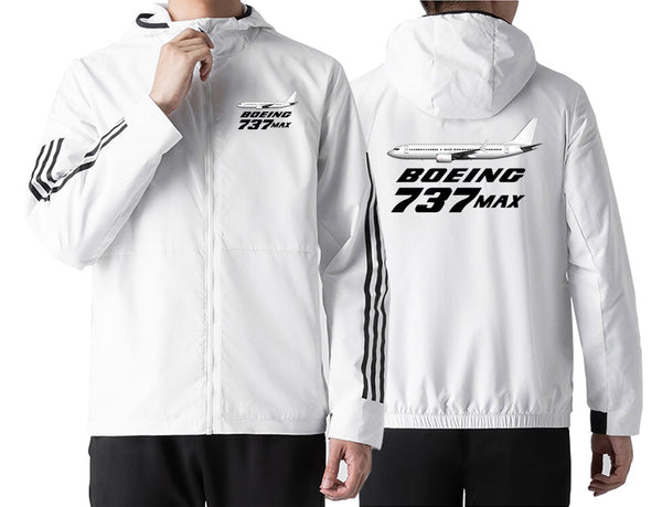 The Boeing 737Max Designed Windbreaker Jackets