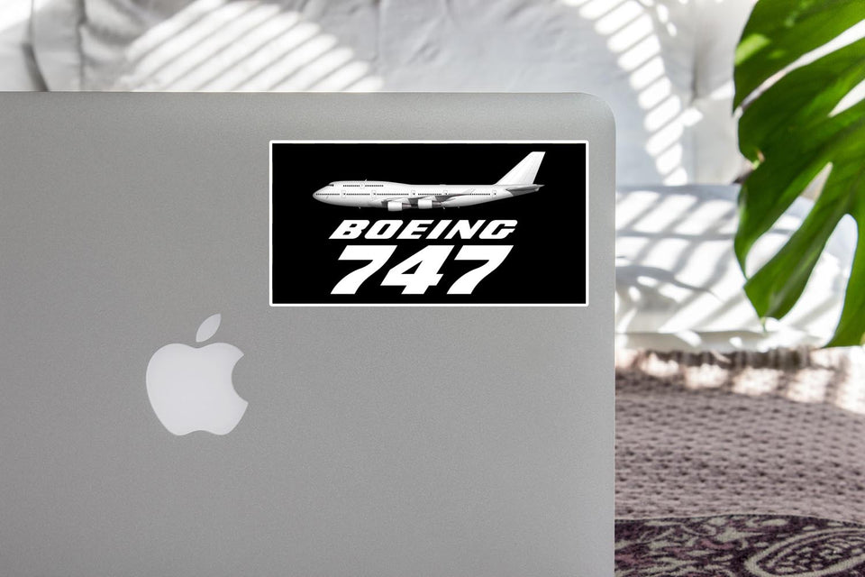 The Boeing 747 Designed Stickers
