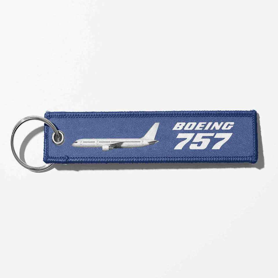 The Boeing 757 Designed Key Chains