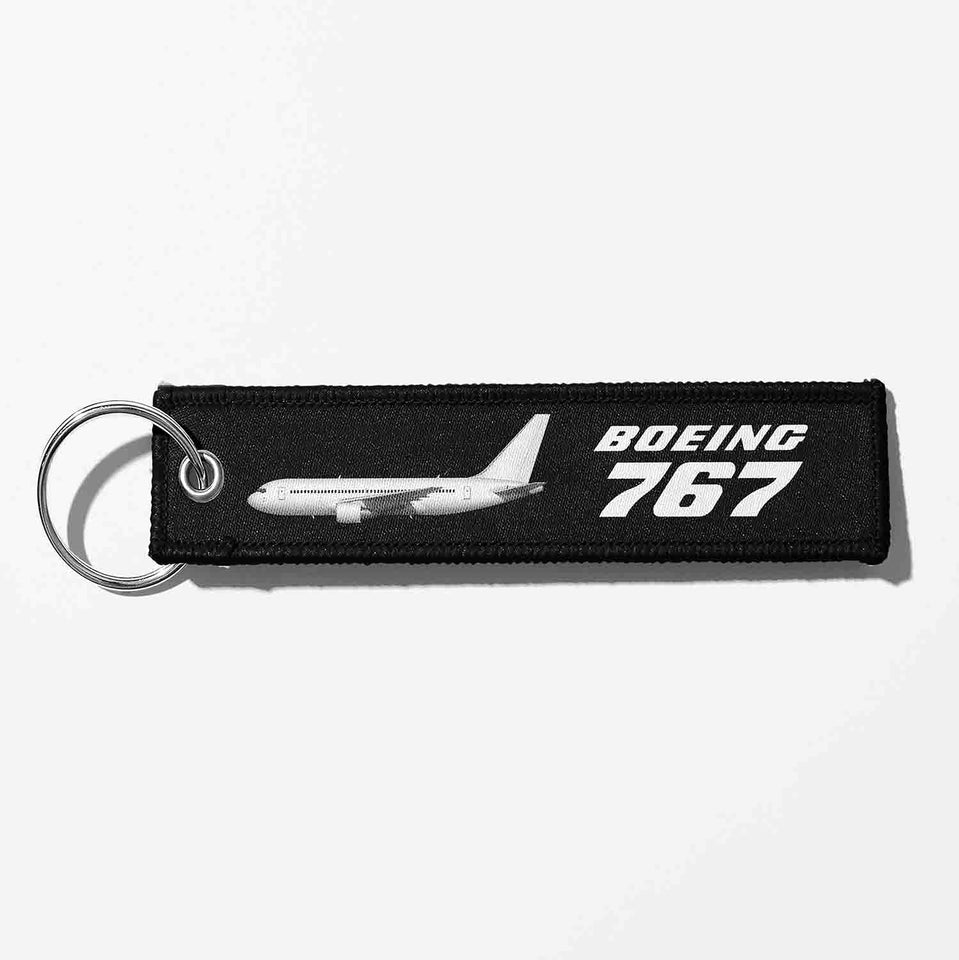 The Boeing 767 Designed Key Chains