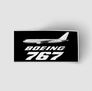 The Boeing 767 Designed Stickers