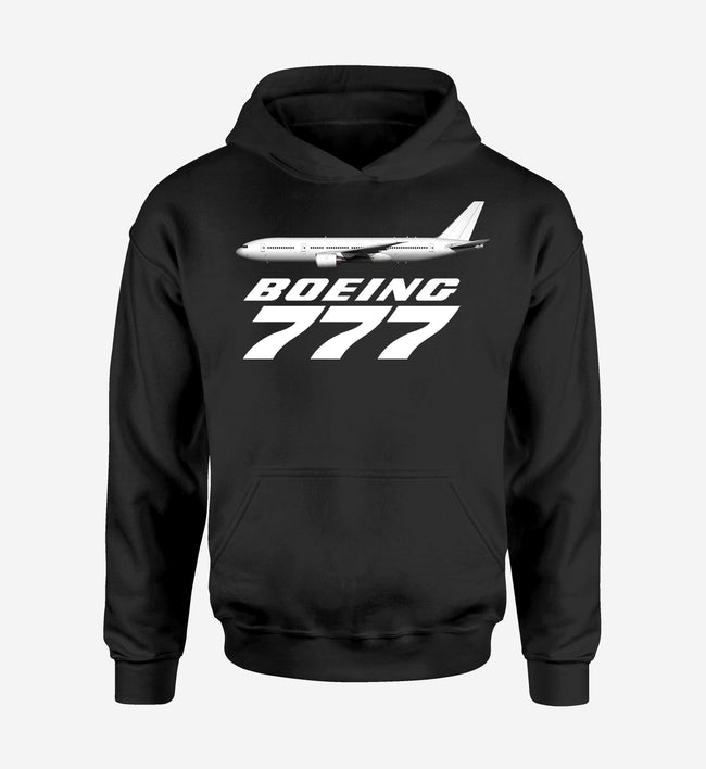The Boeing 777 Designed Hoodies