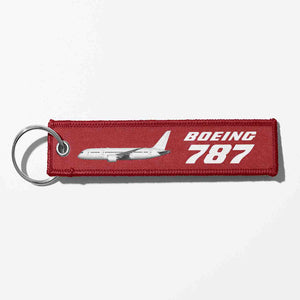 The Boeing 787 Designed Key Chains