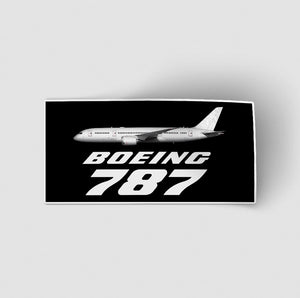 The Boeing 787 Designed Stickers