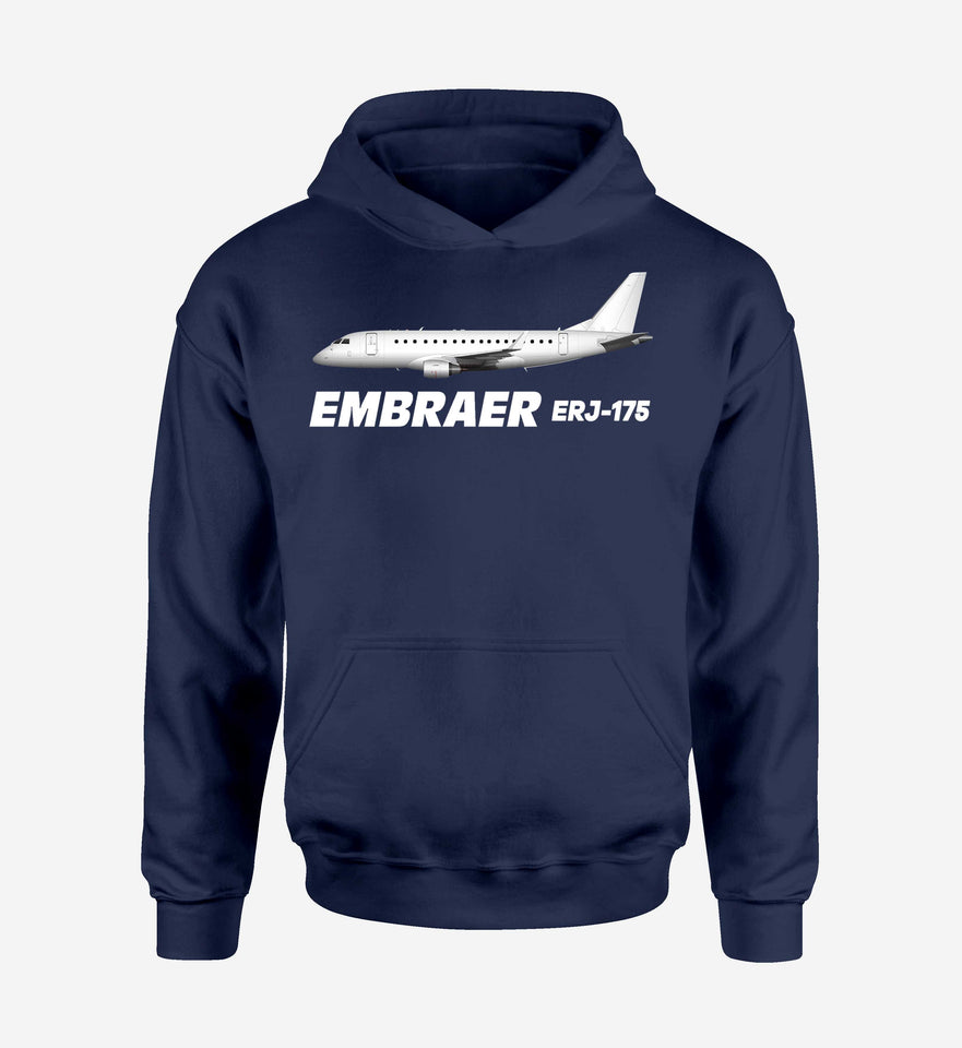 The Embraer ERJ-175 Designed Hoodies