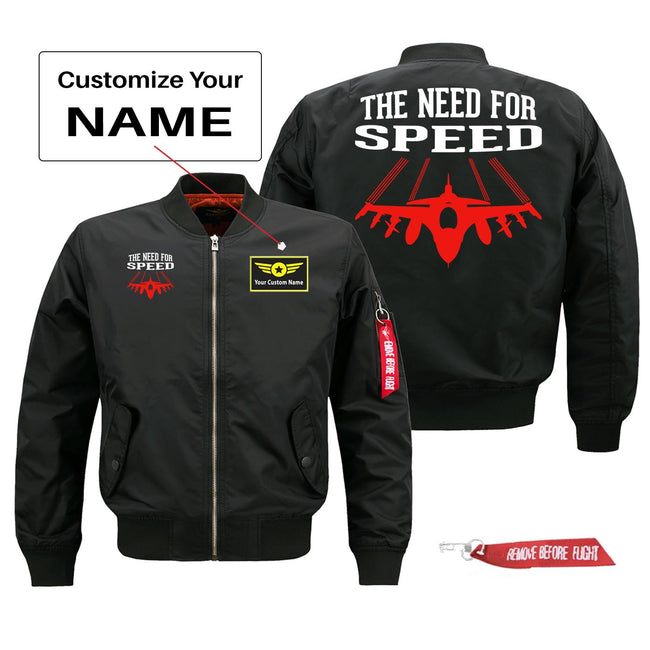 The Need for Speed Designed Pilot Jackets (Customizable)