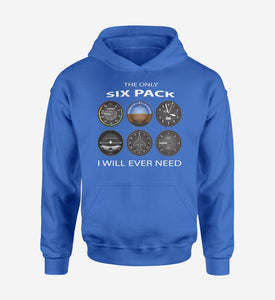 The Only Six Pack I Will Ever Need Designed Hoodies
