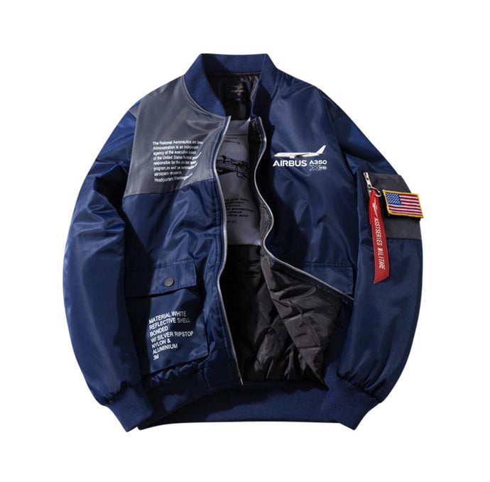 The Airbus A350 WXB Designed Special Jackets (Customizable FLAG)