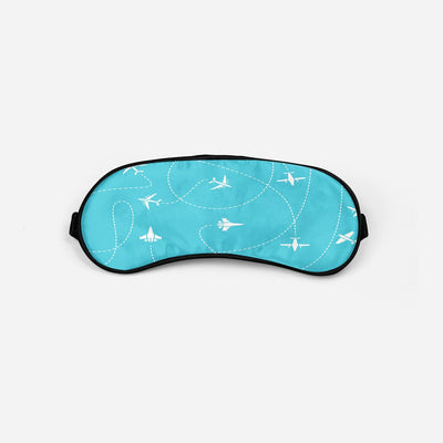 Travel The The World By Plane Sleep Masks