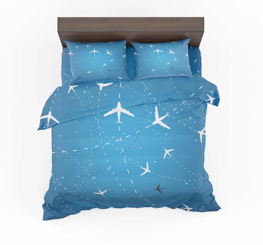 Travelling with Aircraft Designed Bedding Sets