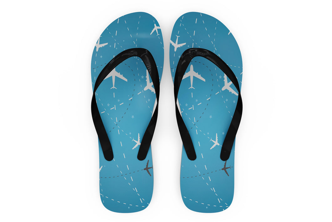 Travelling with Aircraft Designed Slippers (Flip Flops)