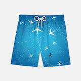 Travelling with Aircraft Designed Swim Trunks