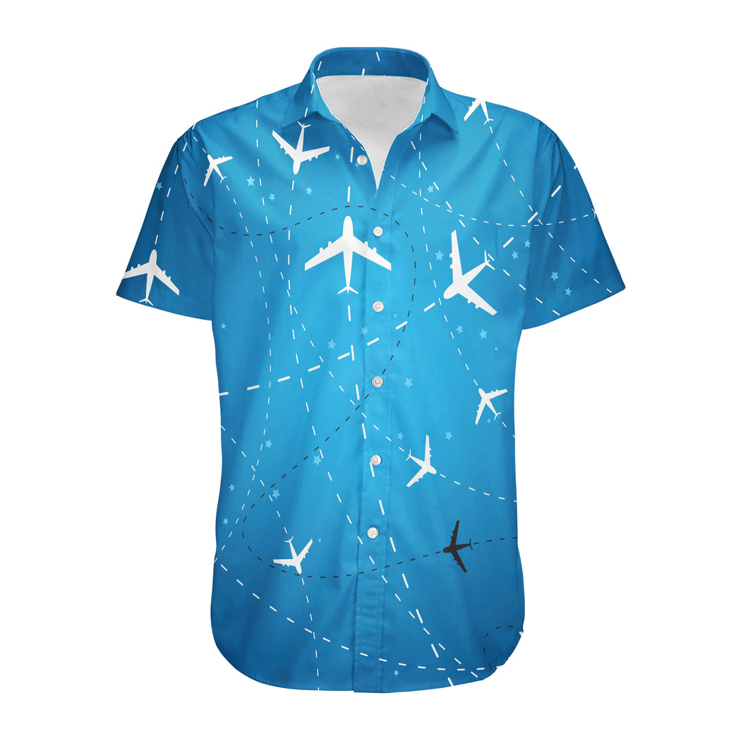 Travelling with Aircraft Designed 3D Shirts