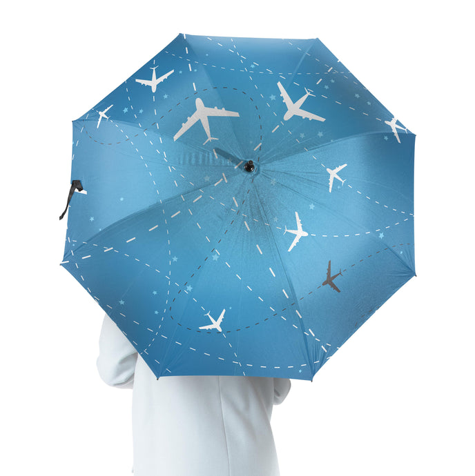 Travelling with Aircraft Designed Umbrella
