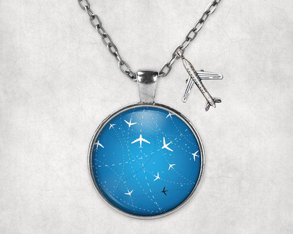 Travelling with Aircraft Designed Necklaces