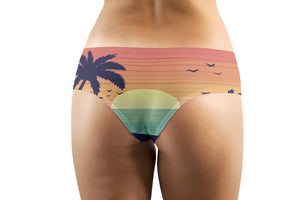 Tropical Summer Theme Designed Women Panties & Shorts