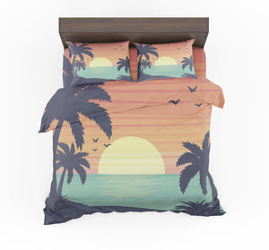 Tropical Summer Theme Designed Bedding Sets