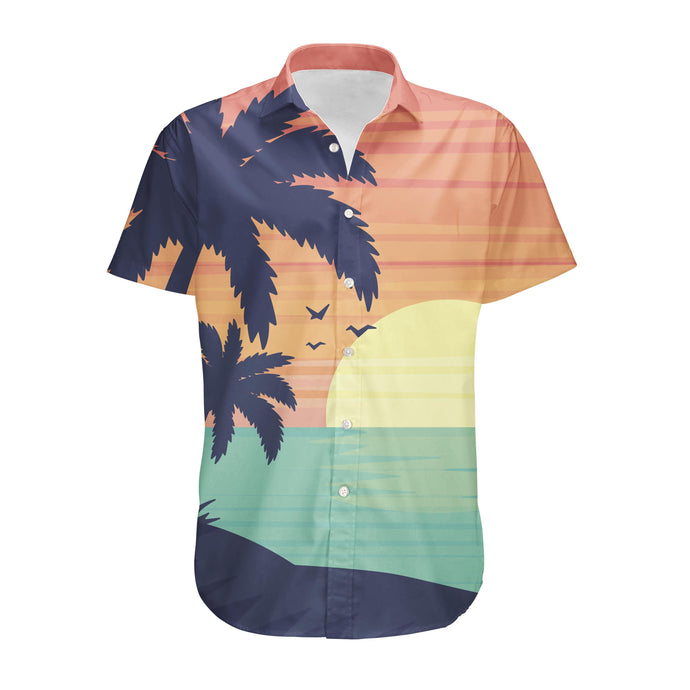 Tropical Summer Theme Designed 3D Shirts