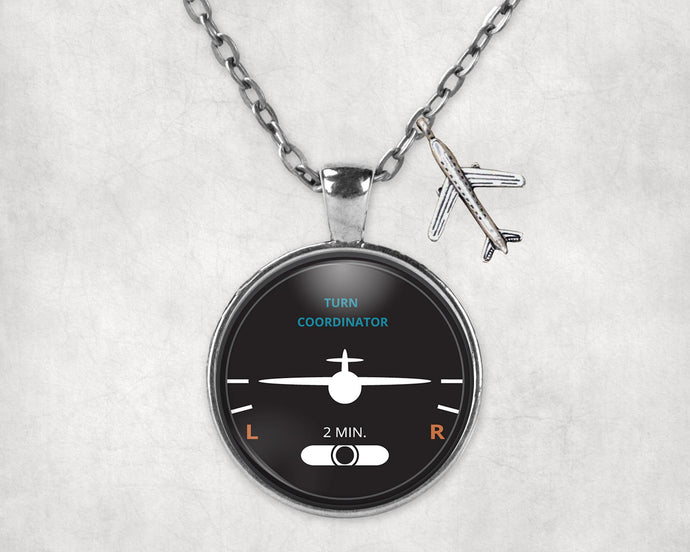 Turn Coordinator Designed Necklaces