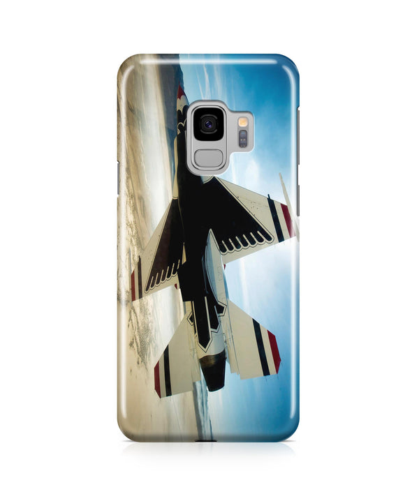 Turning Right Fighting Falcon F16 Printed Samsung J Cases