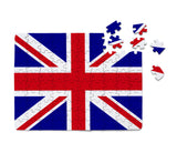 UK Flag Printed Puzzles Aviation Shop