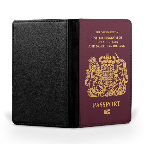 UK Passport Designed Passport & Travel Cases
