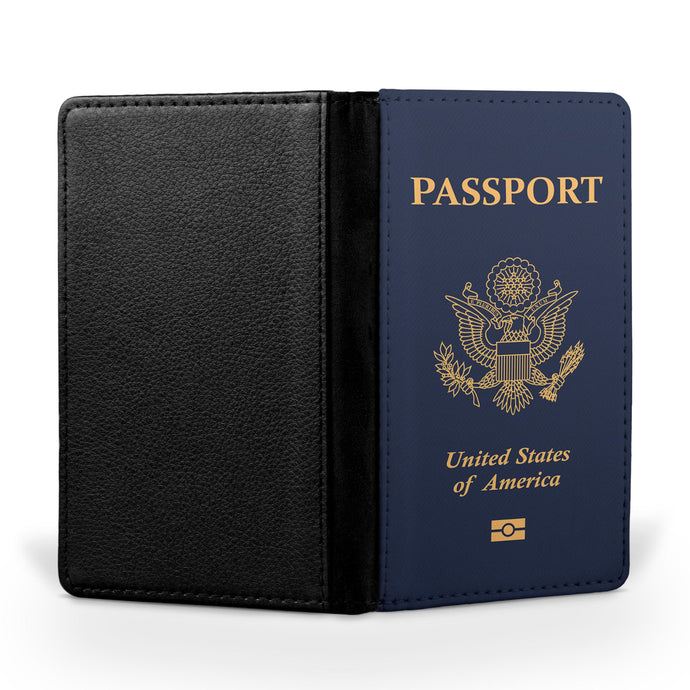 USA Passport Designed Passport & Travel Cases