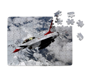 US AirForce Show Fighting Falcon F16 Printed Puzzles Aviation Shop