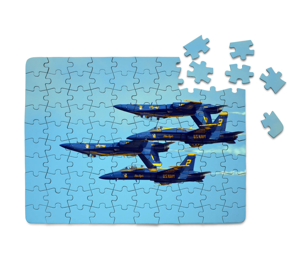US Navy Blue Angels Printed Puzzles Aviation Shop