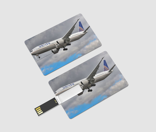 United Airways Boeing 777 Printed iPhone Cases