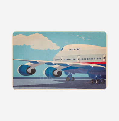 Virgin Atlantic Boeing 747 Printed Door & Bath Mats