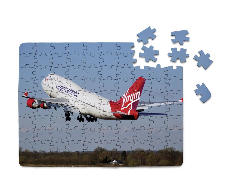 Virgin Atlantic Boeing 747 Printed Puzzles Aviation Shop