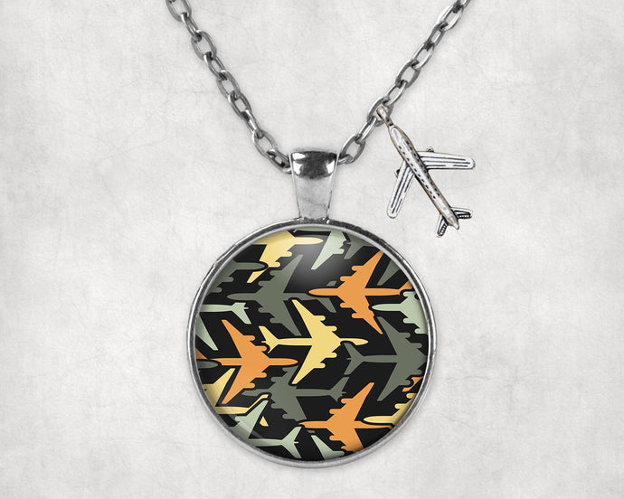 Volume 2 Super Colourful Airplanes Designed Necklaces