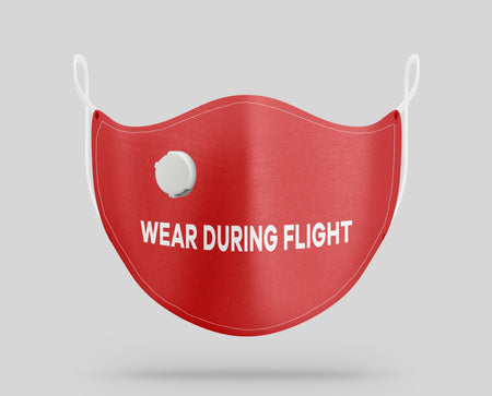 Wear During Flight Designed Face Masks