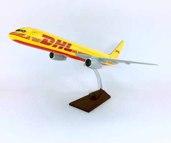 DHL Boeing 757 Airplane Model (Special Handmade 47CM)