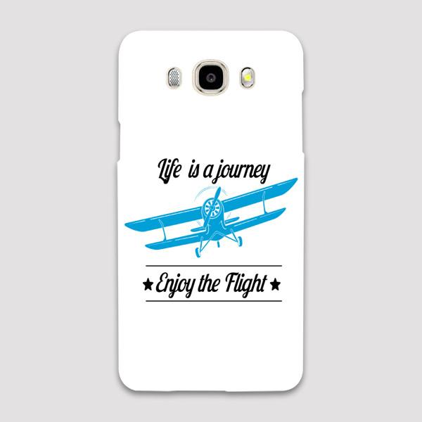Life is a Journey, Enjoy the Flight Designed Samsung C & J Cases