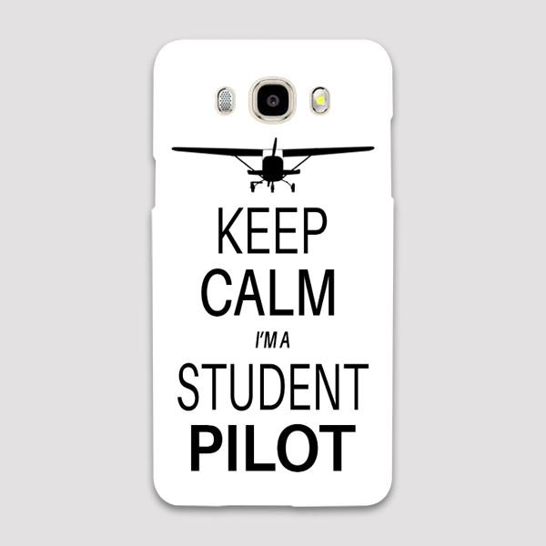 Keep Calm I'm a Student Pilot Samsung C & J Cases