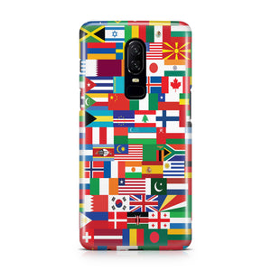 World Flags Designed OnePlus Cases