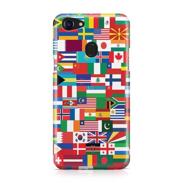 World Flags Designed Oppo Phone Cases