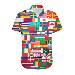 World Flags Designed 3D Shirts