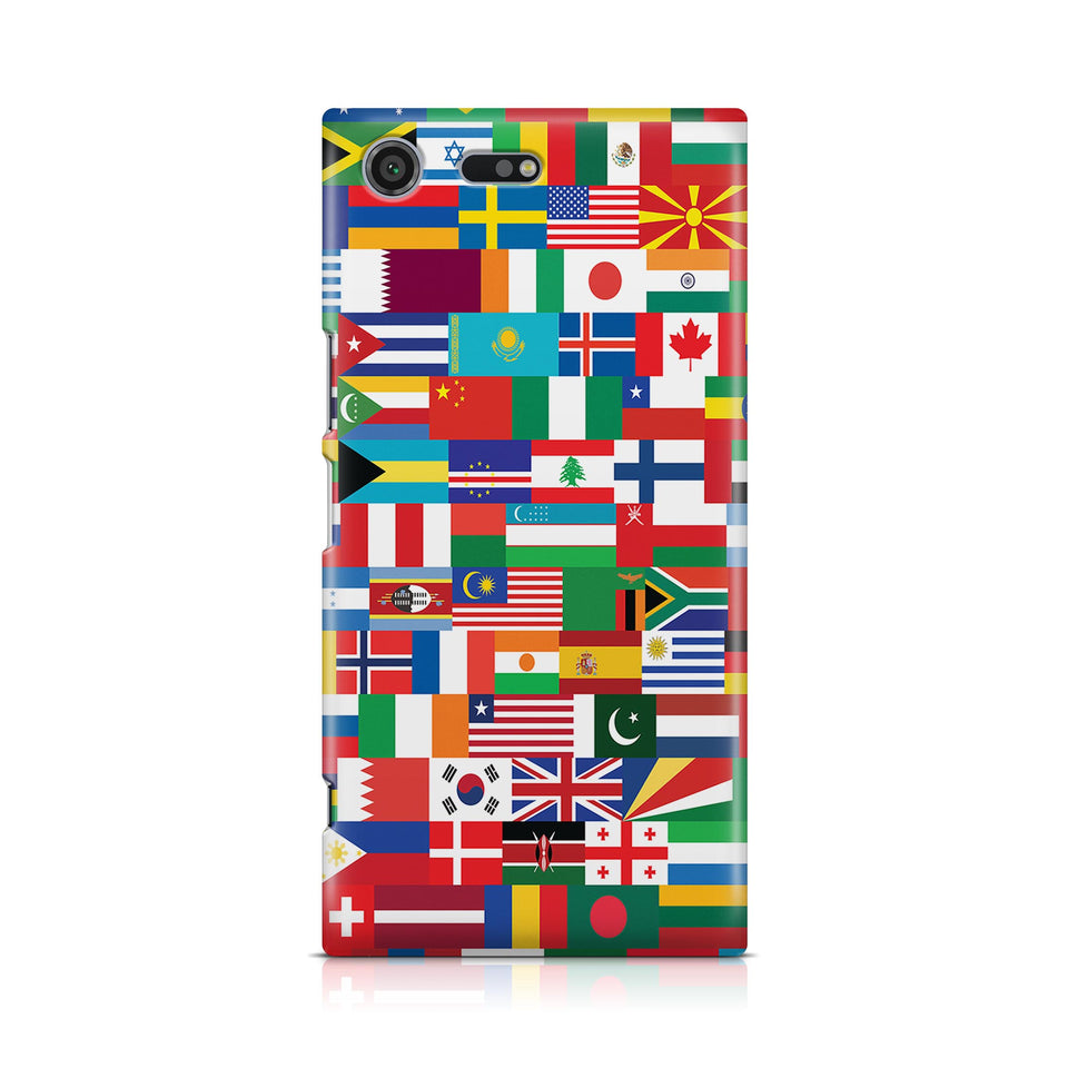 World Flags Designed Sony Cases