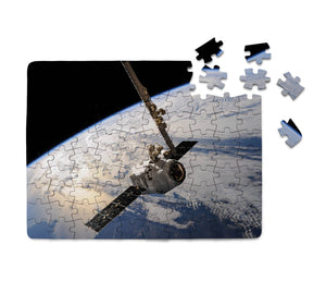 World View from Space Printed Puzzles Aviation Shop