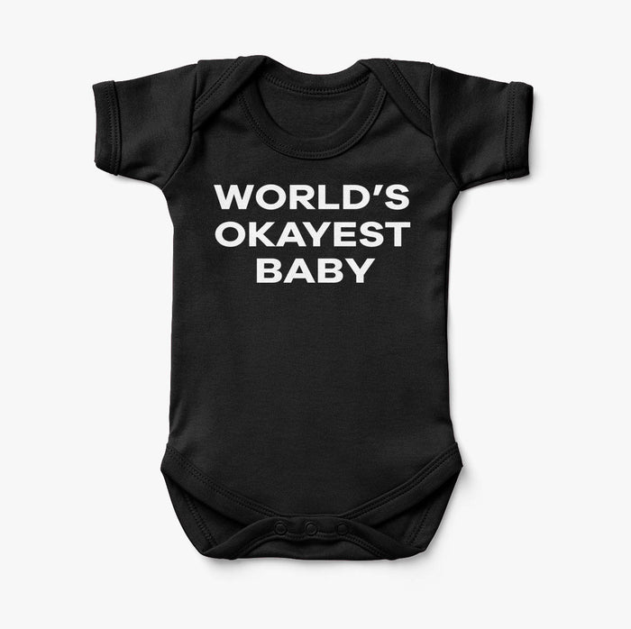 World's Okayest Baby Designed Baby Bodysuits