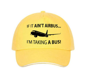 If It Ain't Airbus, I'm Taking a Bus Designed Hats Pilot Eyes Store Yellow